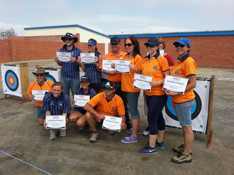AAN CONDUCTS TRAINING OF BASIC ARCHERY INSTRUCTORS (BAI) IN WALVIS BAY
