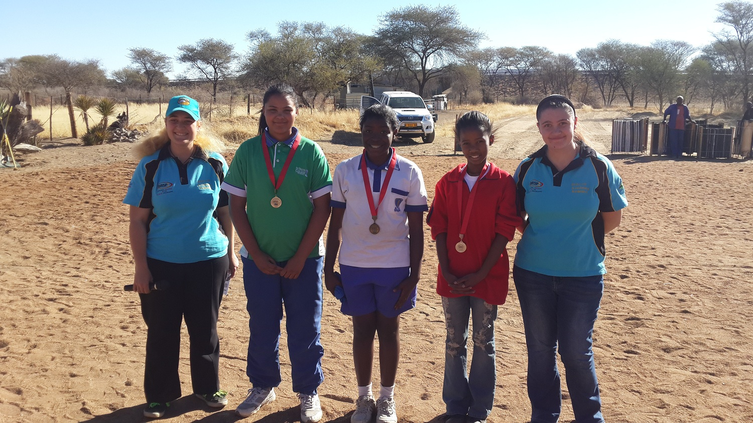 BERG OP ACADEMY HOSTED A NASP ARCHERY COMPETITION