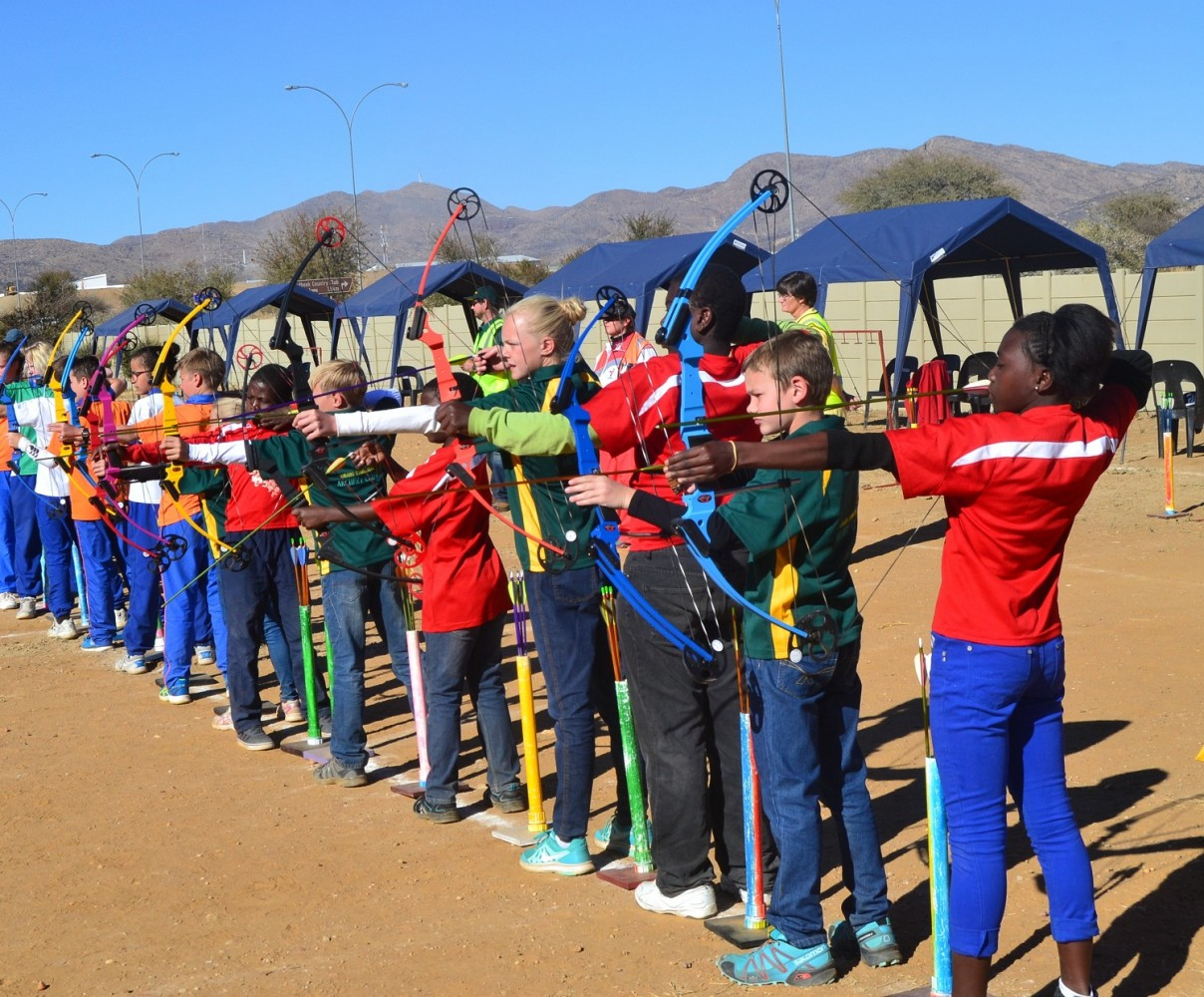 BIGGEST ARCHERY COMPETITION IN NAMIBIA