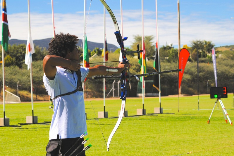NORTH AFRICANS DOMINATE IN RECURVE DIVISIONS NAMIBIANS TOP IN COMPOUND